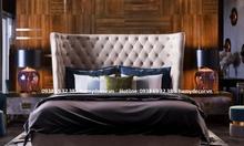 Cửa hàng bán giường ngủ bọc nệm đẹp, sang, hiện đại giá rẻ tại TPHCM