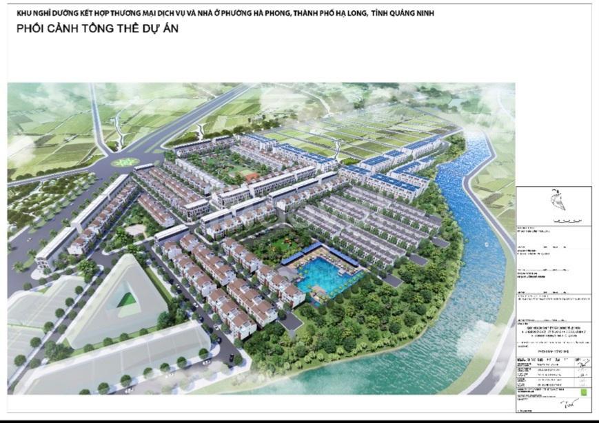 Bán dự án Khe Cá giai đoạn 2 bám đường bao biển Hạ Long Cẩm Phả