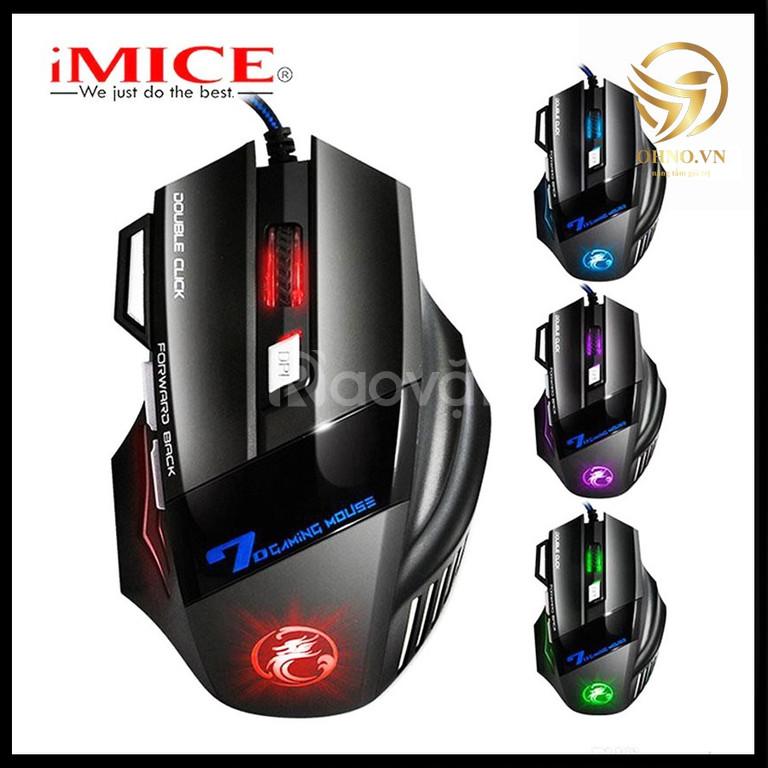 Chuột Gaming Game có dây Imice X7