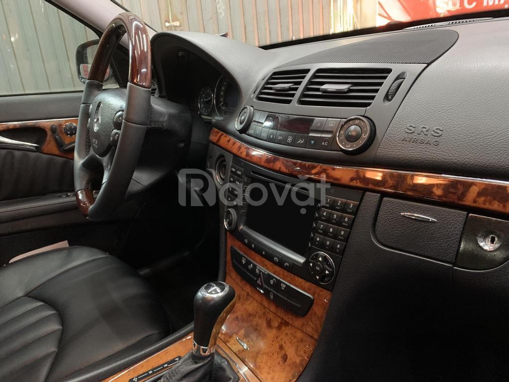 Bán Mercedes E280 Sản Xuất 2008, màu đen, số tự động, nhập khẩu