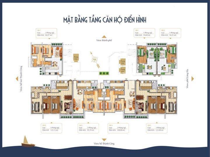 Bán suất ngoại dự án BRG Grand Plaza 16 Láng Hạ