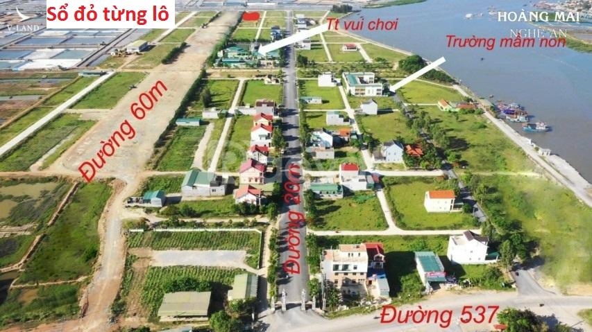 Bán đất đầu tư thị xã Hoàng Mai