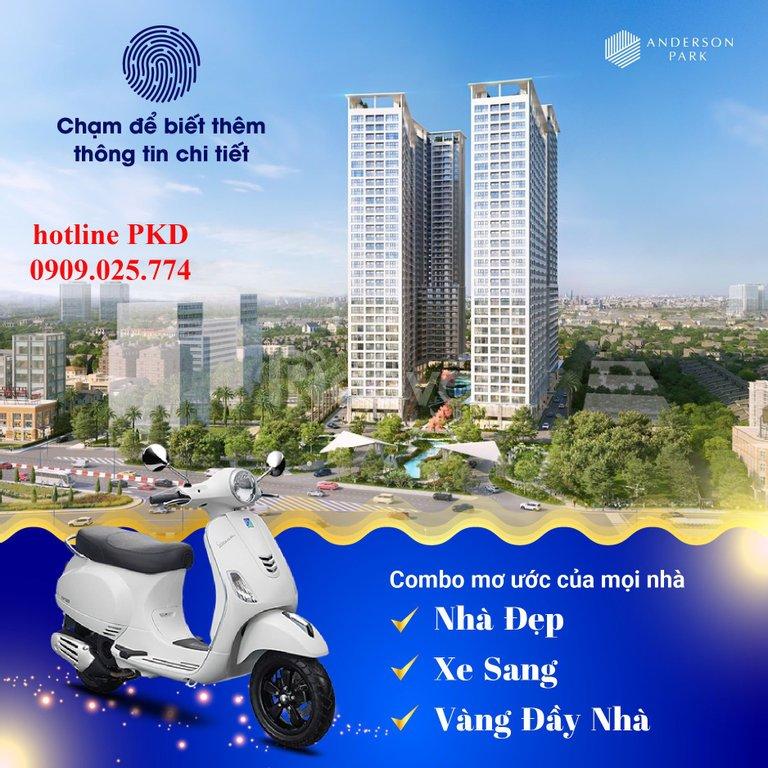 Căn hộ Anderson Park tham quan căn hộ mẫu chuẩn xanh tại Tp. Thuận An