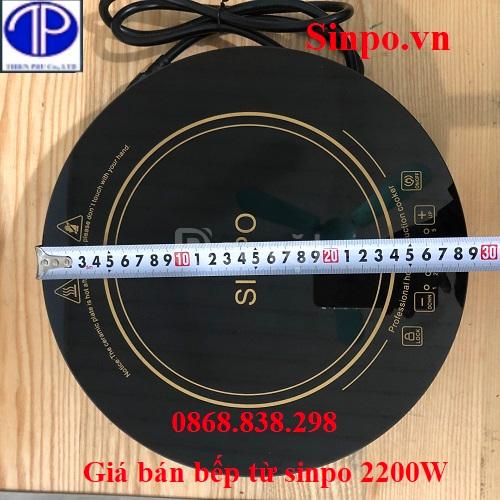 Bếp từ Sinpo 2200W, bếp từ lẩu âm bàn