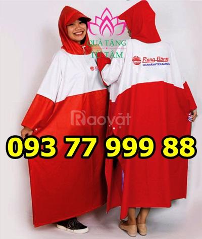 Cơ sở sản xuất áo mưa, in logo áo mưa, áo mưa in logo giá rẻ cg5