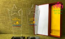 Cơ sở sản xuất kỷ niệm chương pha lê, cúp pha lê