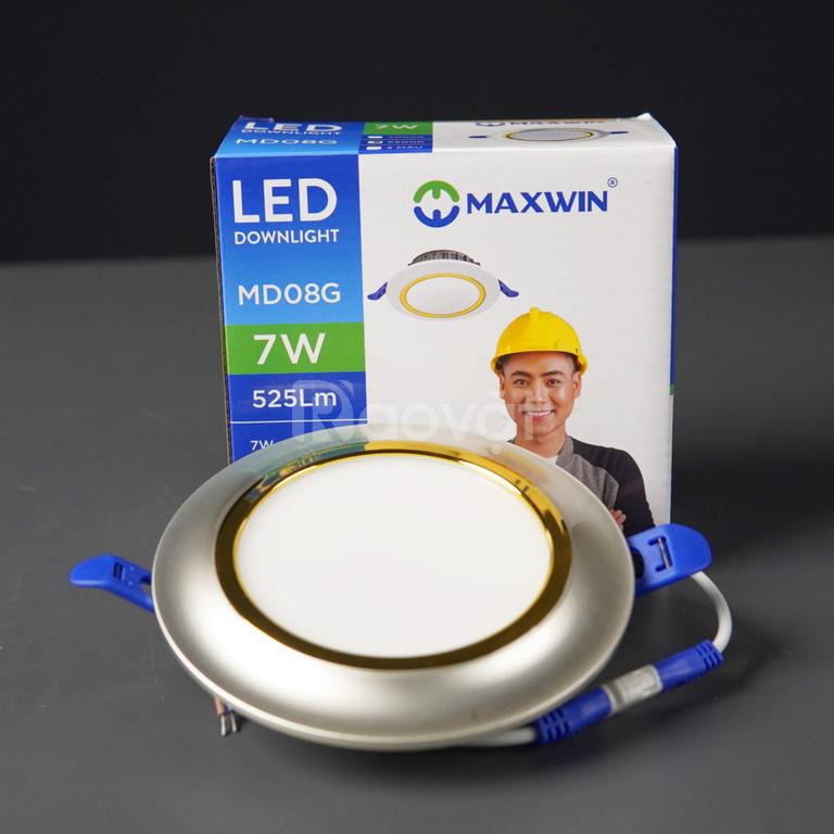 Đèn led downlight maxwin