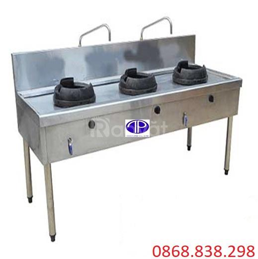 Bếp xào 3 họng công nghiệp