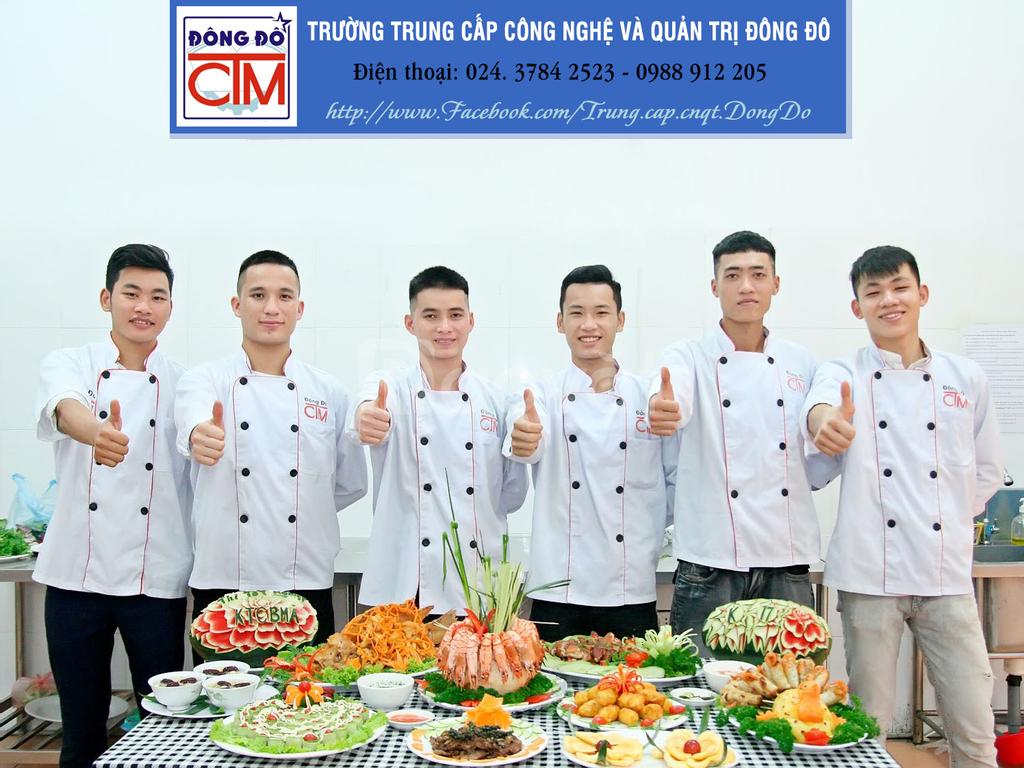 Dạy nghề nấu ăn chuyên nghiệp có giới thiệu việc làm