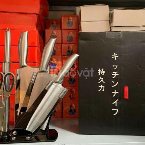 Bộ dao nhật 6 món + hộp, tặng 20k phí ship khi đặt hàng
