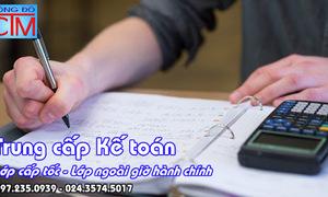 Trung cấp kế toán xét tuyển hệ chính quy học cấp tốc nhanh có bằng