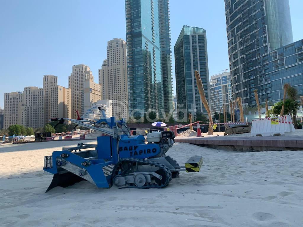Xe dọn rác bãi biển, máy làm sạch bãi biển CFC