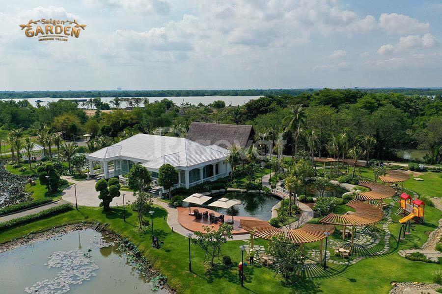 Khu biệt thự vườn quen sông quận 9, Sài Gòn Garden Riverside CK 22%