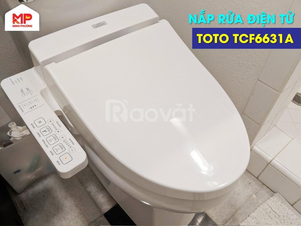 Mua nắp rửa điện tử ToTo TCF6631A giá tốt 2021