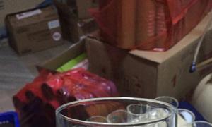 Cung cấp ly thủy tinh in logo quà tặng nhân viên dịp tết