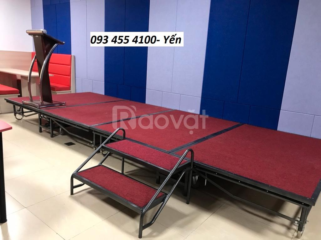 Sân khấu di động giá rẻ, bán sân khấu lắp ráp tại Hà Nội