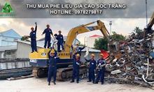 Thu mua phế liệu giá cao khu vực Sóc Trăng, Vĩnh Long, Bạc Liêu