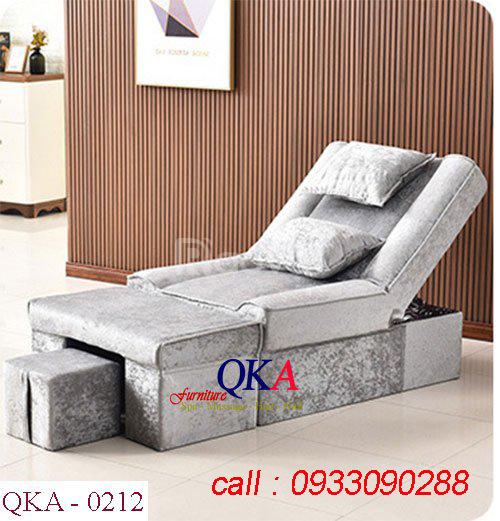 Ghế foot massage QKA 0212 sản phẩm mới cho spa