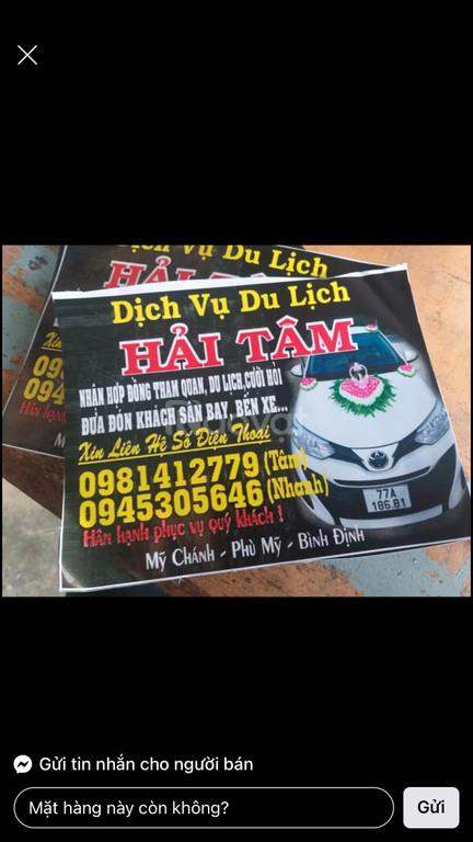Taxi ở Phù Mỹ, Bình Định