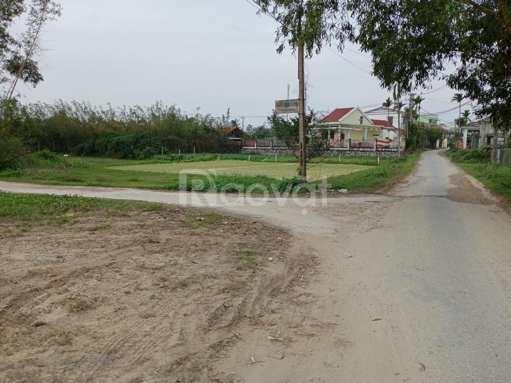 Bán nhanh lô đất 3 mặt tiền view lúa khu Đồng Nà