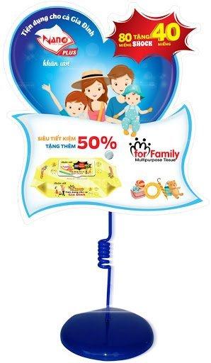 Xưởng sản xuất và in wobbler quảng cáo giá rẻ tại TP.HCM