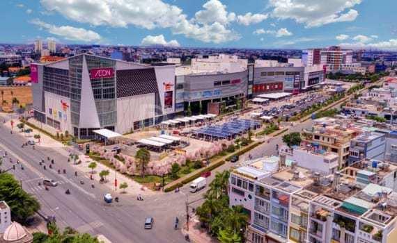 Cần bán lại 3 nền đất nằm liền kề siêu thị Aeon Mall Tên Lửa, Bình Tân