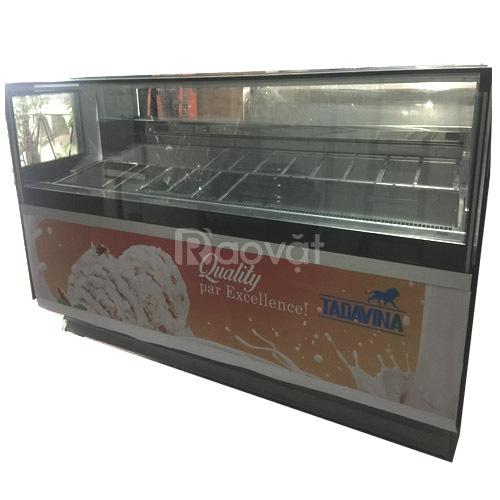 Bán tủ trưng bày kem cũ giá tốt