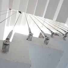 Phụ kiện cầu thang tăng đơ ống, tăng đơ đầu nhỏ, cáp inox 304 bọc nhựa