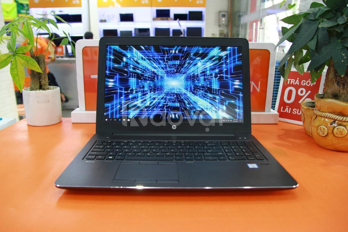 HP Zbook 15 G3 máy trạm thiết kế gọn đẹp