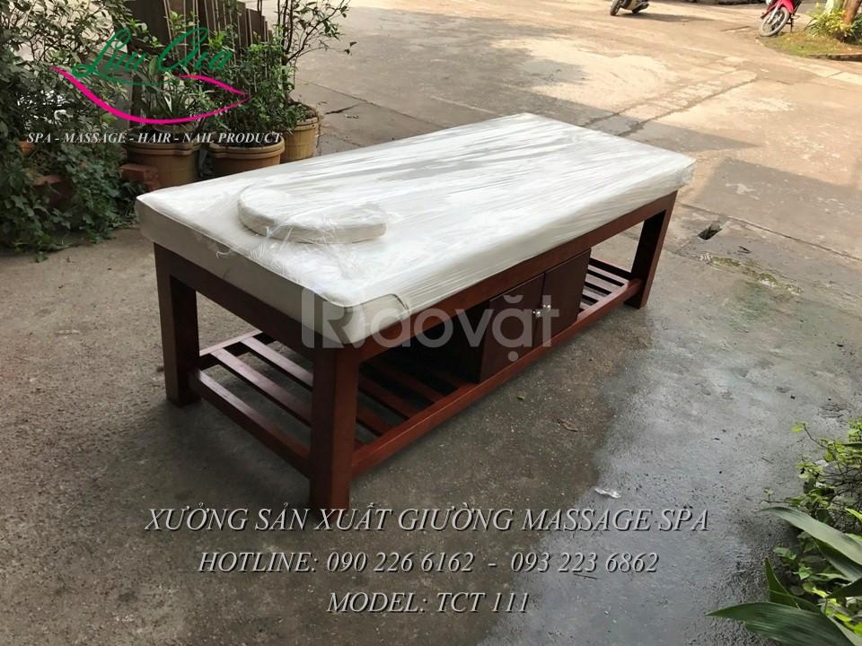 Giường massage toàn thân giá rẻ tại Hải Phòng