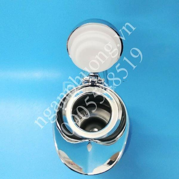 Bình giữ nhiệt inox 2L cap cấp, bình rót châm trà cho quán cà phê