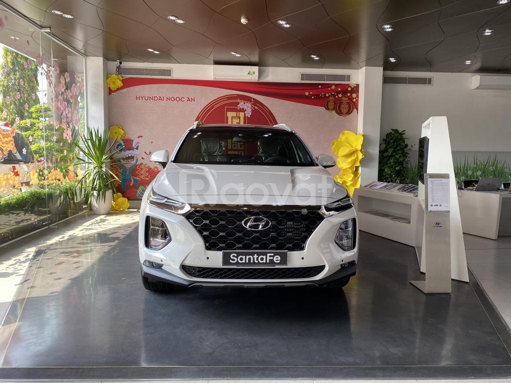 Hyundai Santafe 2020 giảm giá lên đến 62tr + phụ kiện cao cấp