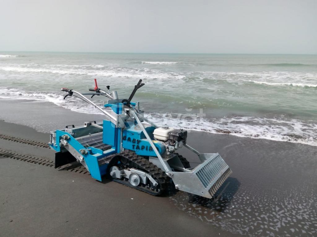 Xe cào rác bãi biển, xe dọn rác bãi biển