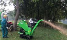 Máy nghiền cành cây, máy băm cành cây di động