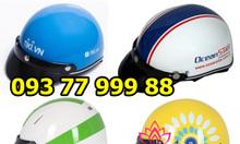 Cơ sở sản xuất nón bảo hiểm, mũ bảo hiểm, in logo mũ bảo hiểm giá rẻ