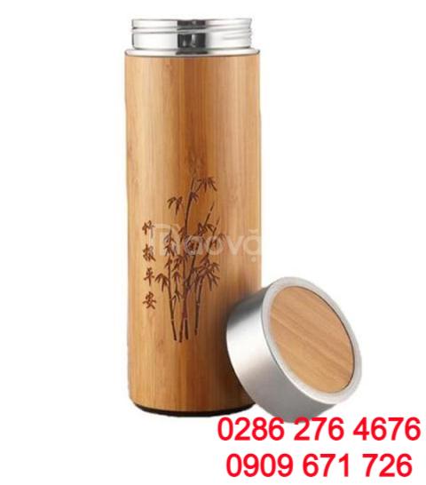 Xưởng sản xuất bình giữ nhiệt vỏ gỗ TPHCM