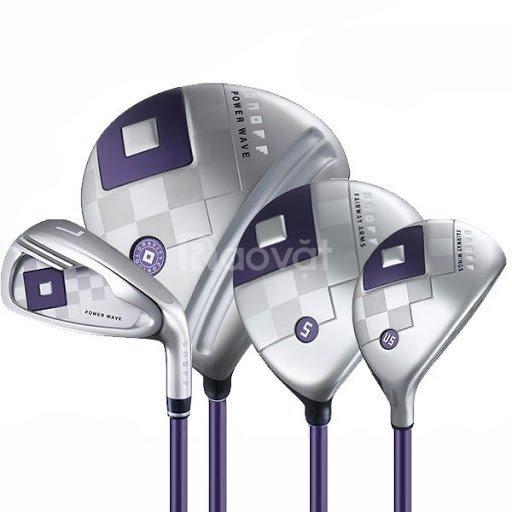 Giới thiệu bộ gậy golf nữ onoff 419 lady set chuẩn Nhật Bản