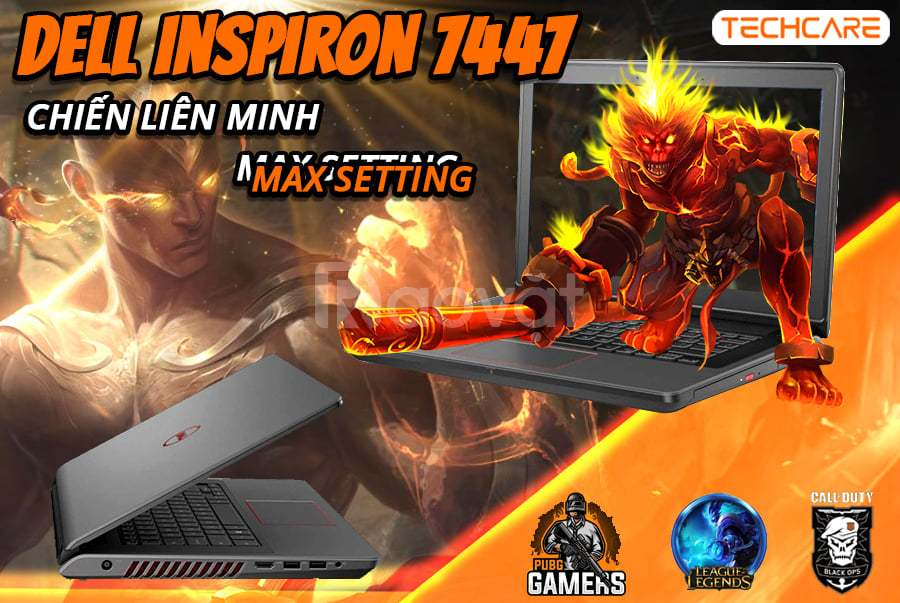 Dell Inspiron 7447 dòng gaming cấu hình tốt, giá hợp lí