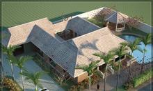 Bán biệt thự vườn 2 mặt tiền 51mx31m, nở hậu, Thái My, Củ Chi, HCM