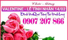 Vĩnh Long, dịch vụ chuyể hoa quà tặng valentine 14/02/2021