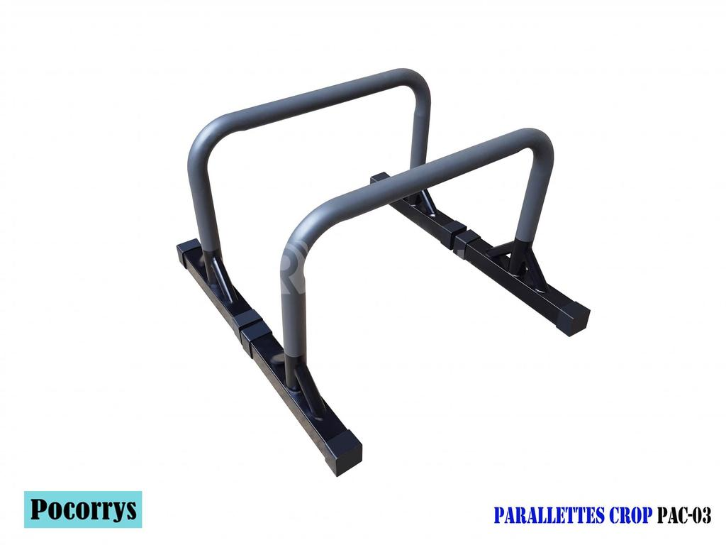 Parallettes Crop cao 45cm xà kép mini Pocorrys PAC-03