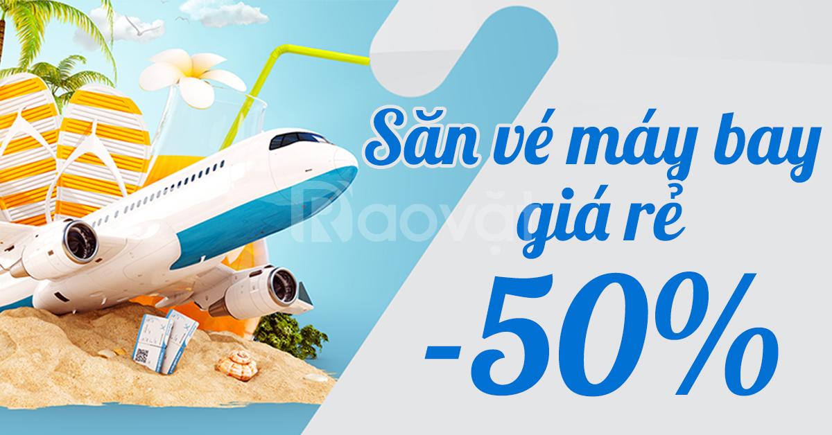 Đại lý vé máy bay giá rẻ, vé máy bay Việt Nam