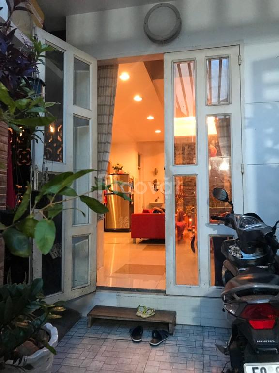 Bán nhà hẻm 470 Nơ Trang Long 60m2, 2 tấm