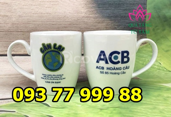 Cơ sở sản xuất ly sứ, ly thủy tinh, in logo ly sứ, in logo ly