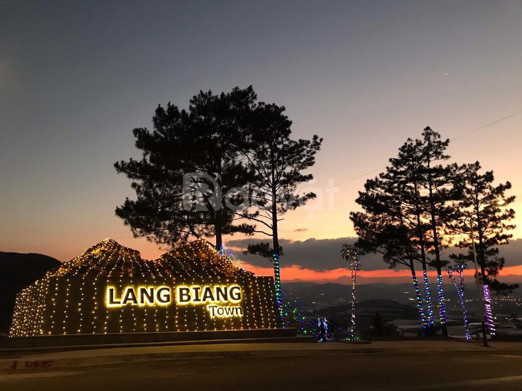 Langbiang Town Đà Lạt, lô đẹp giá gốc, trực tiếp CĐT