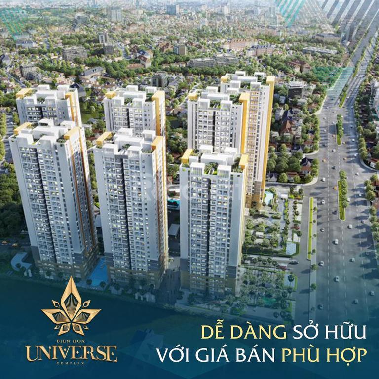 Căn hộ cao cấp tại Biên Hòa, CK 21%, thanh toán trong 38 tháng
