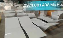 Ghế nhựa bể bơi composite fiberglass, ghế nằm hồ bơi chuyên dụng