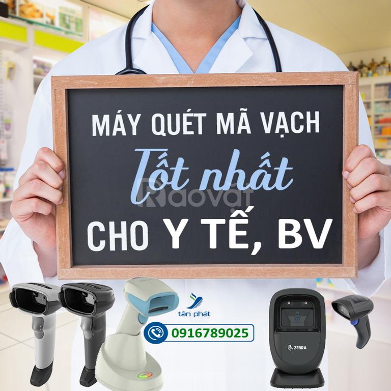 Máy quét mã vạch chuyên cho y tế, bảo hiểm 2021