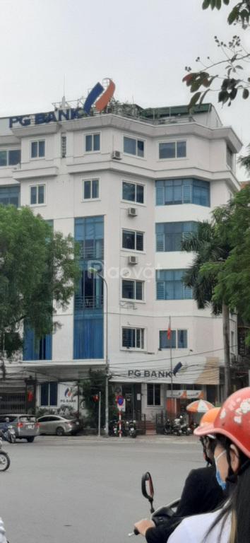 Bán nhà BT phố Hoàng Cầu DT 105m2 6 tầng MT 11m
