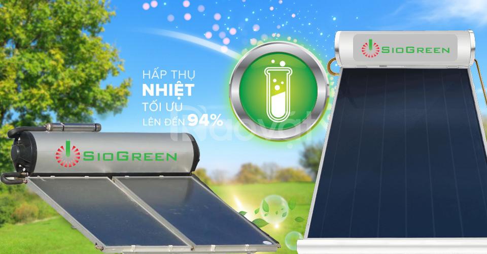 Máy nước nóng năng lượng mặt trời tấm phẳng SioGreen 150 lit
